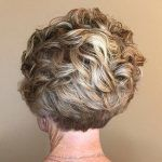 Mom Curly Pixie With Stacked Nape Layered Curly Hair, Curly Pixie, Short Hair With Layers, Short Hair Cuts For Women, Short Curly Hair, Curly Hair Styles, Hair Layers, Short Curls, Wavy Hair
