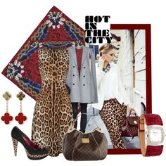 """""""Hot in the City"""" by melange-art on Polyvore"""