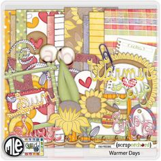 Warmer Days full kit freebie from MLE Card