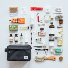 Stay Well Packed with Herschel Supply. The Chapter Toiletry Case.