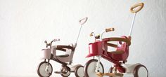 IIMO, a design award winning tricycle that combines japanese design excellence with a retro aesthetic.