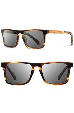 6d2c500196 Shwood  Govy  52mm Polarized Wood Sunglasses