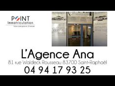 Carte grise Saint-Raphael : L'Agence Ana - http://www.cartegrise-pointimmatriculation.fr/carte-grise-saint-raphael-lagence-ana/