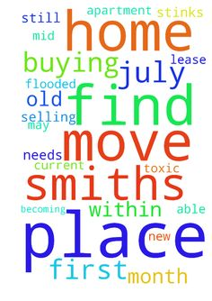 We are buying our first home.  The - We are buying our first home. The Smiths who are selling to us still needs to find a place to move to. If they cannot find a place before mid July, we wont be able to move, and our lease is up this month. Our current apartment is too small, and was flooded on July 4, so now the place stinks and is becoming toxic. Please pray that the Smiths find a new home, within their budget, so that we may move into their old place.  Posted at…