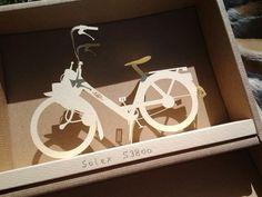 Gift. Paper Solex S3800. Photo Mabo Fujikawa. Lotus 7, Paper Crafts, Gifts, Wheels, Great Ideas, Presents, Tissue Paper Crafts, Papercraft, Wrapping Paper Crafts