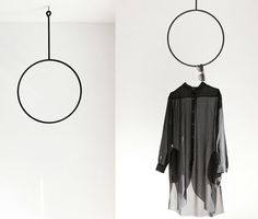 Rethinking hangers. I'm in love