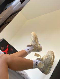 Jordan Shoes Girls, Girls Shoes, Jordan 4, Shoe Room, Swag Shoes, Nike Air Shoes, Aesthetic Shoes, Fresh Shoes, Hype Shoes