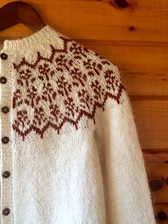 i love the simplicity of this well-written pattern by kate davies, i have knit…