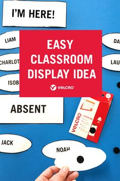 Looking for new classroom decor ideas? Turn a corner of your classroom into an interactive attendance register with this easy classroom display idea! New Classroom, Classroom Displays, Classroom Decor, Attendance Register, Back To School Displays, Primary Teaching, Disco Party, First Day Of School, Encouragement