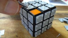 3D Printing-Enhanced Rubik's Cube Features Braille Numbers for the Visually Impaired http://3dprint.com/59310/rubiks-cube-3d-printed-braille/