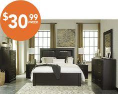 Majik Rent To Own Ashley Tadlyn Bedroom Set Id:B146