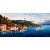 Yağlıboya Tablo , Modern Tablolar , İstanbul Manzara Resimleri