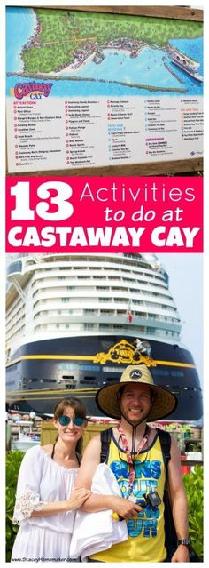 The last port day of our Disney cruise honeymoon was spent at Disney's Castaway Cay. It was my favorite port of the whole cruise! Here are 13 things you need to do at Disney's Castaway Cay!We had the BEST time at Disney's Castaway Cay! Here are 13 things Best Cruise, Cruise Tips, Cruise Travel, Cruise Vacation, Disney Vacations, Vacation Trips, Disney Travel, Vacation Ideas, Italy Vacation