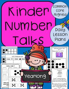 Great way to build number sense and encourage math conversations.