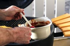 Finger Lickin' BBQ Sauce {www.mylifeasamrs.com}