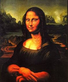 Paintings With Hidden Images - Octavio Ocampo is a Mexican surrealist with an extraordinary skill. His metaphorical pictures incorporate superimposed images in the paintings he c. Cool Optical Illusions, Art Optical, Hidden Images, Hidden Pictures, Hidden Pics, Illusion Pictures, Street Art, Mona Lisa Parody, Photo Chat