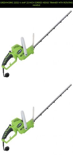 GreenWorks 22122 4 Amp 22-Inch Corded Hedge Trimmer with Rotating Handle #fpv #trimmers #racing #electric #kit #shopping #tech #technology #camera #products #plans #gadgets #drone #parts #hedge