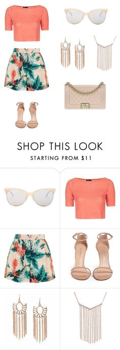 """""""Untitled #120"""" by zahralester ❤ liked on Polyvore featuring Smith Optics, Topshop, Stuart Weitzman and Chanel"""
