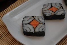 Papaya Shikai Maki Rolls by my_amii, via Flickr