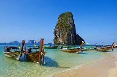 Known for its stunning beaches and natural scenery, both adventure and relaxation awaits in Thailand. See where you should travel in 2018, according to your Zodiac sign at HouseBeautiful.com.