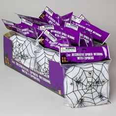 Spider Webbing W/4 Spiders >>> Click image for more details. (This is an affiliate link) #PartySupplies