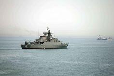 The Iranian military vessel Alborz, April 7, 2015.