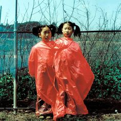twins, couple, kids  friends, red, plastiv, asian, japanese, chiese  chinese