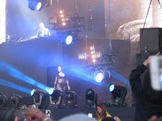 David Guetta and Nicki Minaj at Wireless Festival 2015