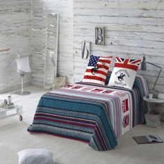 Colcha Bouti Aspen Beverly Hills Polo Club Aspen, Beverly Hills Polo Club, Comforters, Blanket, Bed, Furniture, Home Decor, Products, Pillow Shams