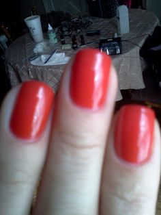 Tiger blossom gel polish by gelish