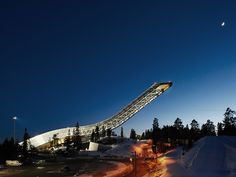 Airbnb Raffles Off a Stay in a...Scandinavian Ski Jump? | WIRED