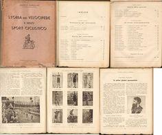 CICLISMO-STORIA DEL VELOCIPEDE E DELLO SPORT CICLISTICO-PADOVA 1946-L 4552