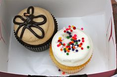 Cupcakes from Georgetown Cupcakes