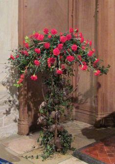 Church floral arrangements - The