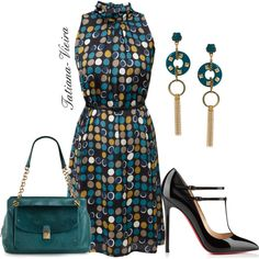 024 by tatiana-vieira on Polyvore featuring Tory Burch, Nali and Christian Louboutin