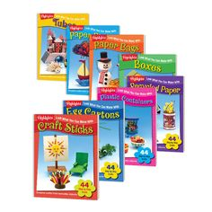 Look What You Can Make Craft Books 8-Book Set | Highlights for Children