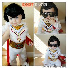 Diy baby elvis costume elvis costume diy baby and costumes lots of toddler halloween costume ideas plus some family ideas too isnt this baby elvis costume adorable solutioingenieria Image collections