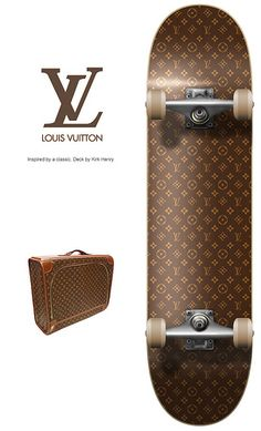 Being edgy means never having to compromise. :D [Louis Vuitton, Fashion, Skateboarding]