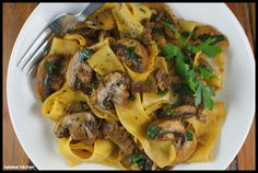 """""""Big Night"""" Mushroom Pappardelle -- Canal House Cookbook"""