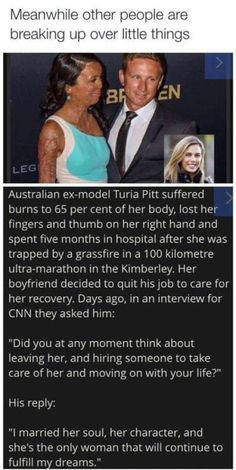 Turia Pitt husband true love
