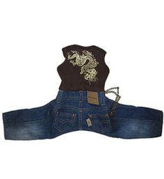 Dog Clothes, Hooded Eagle Jumper, Trendy, Apparel, Small, Puppy, Pet Designer, Dog Boutique - $46.99 from TaliaDogBoutique.com