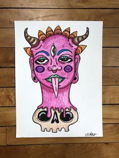 pin | @untetheredsun Trippy Painting, Acid Art, Aesthetic Drawing, Pretty Art, Cute Art, Tumblr Art, Art Journal Inspiration, Art Inspo, Colorful Drawings
