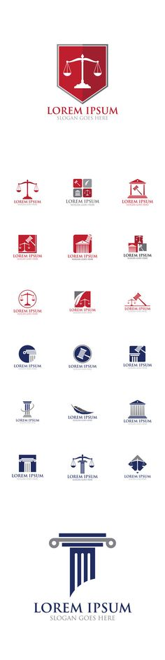 Vectors - Law Legal Logo Icon Design