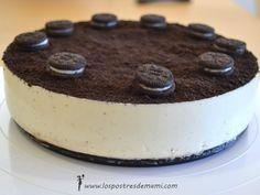 Tarta Oreo Thermomix - Los postres de mami – Recetas fáciles y dulces Cheescake Oreo, Oreo Cake, Oreos, Let Them Eat Cake, Nutella, Tapas, Sweets, Baking, Ethnic Recipes