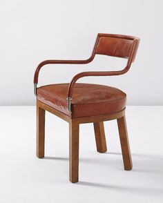 Samuel Marx, 1944.  From a Phillips Auction.  Have never seen this chair, but love the visual.