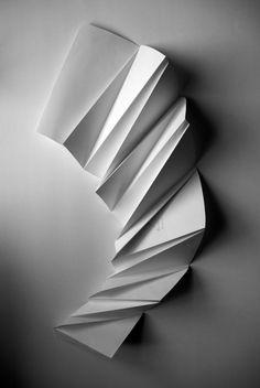 Formas en Papel  papel  esculturas  arte