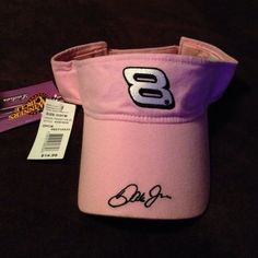 Ladies Dale Earnhardt Jr Sun Visor Really cute for you racing fans. Never worn. Accessories Hats