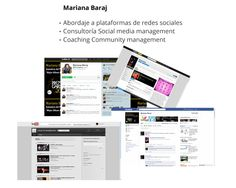 Social Media Management.  Coaching Community Management.