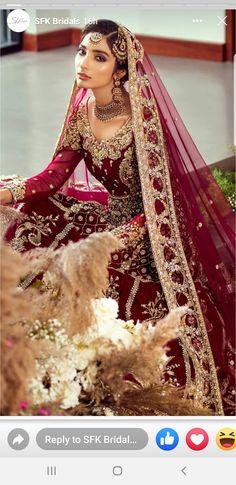 Desi Wedding Dresses, Princess Wedding Dresses, Boho Wedding Dress, Modest Wedding, Wedding Outfits, Wedding Wear, Blue Wedding, Pakistani Wedding Dresses, Wedding Lenghas