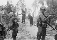 https://flic.kr/p/fi7Pt8 | 1966, Vietnam - American soldiers performing a search…